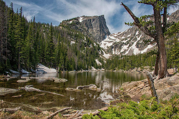 Photograph - Dream Lake by Darlene Bushue