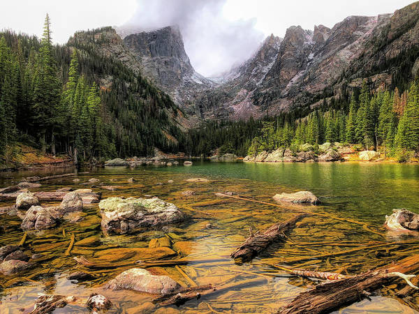 Wall Art - Photograph - Dream Lake by Eric Glaser