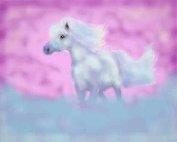 Digital Art - Dream Pony by Angela Davies