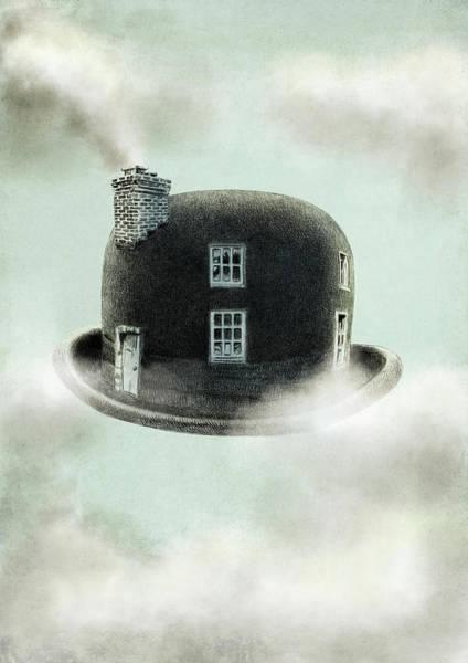 Hat Drawing - Dreamer by Eric Fan