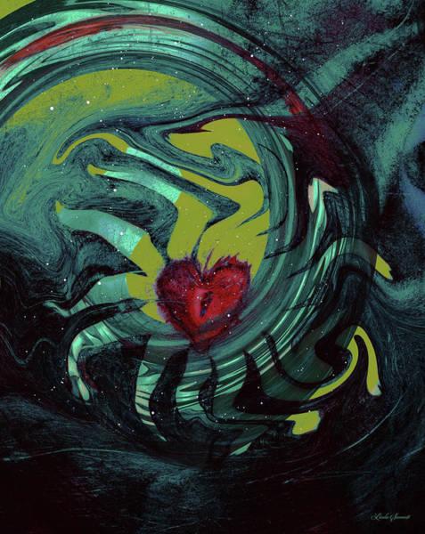 Wall Art - Digital Art - Dreaming Heart by Linda Sannuti