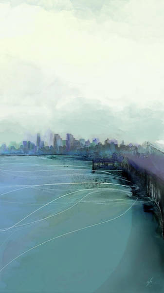 Digital Art - Dreaming Of Runyonland by Gina Harrison
