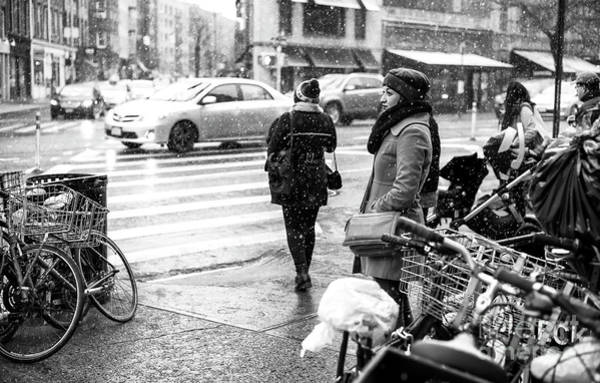 Photograph - Dreaming Of Winter In Greenwich Village by John Rizzuto
