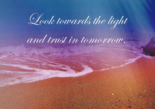 Wall Art - Photograph - Dreamland Beach_look Towards The Light by Johanna Hurmerinta