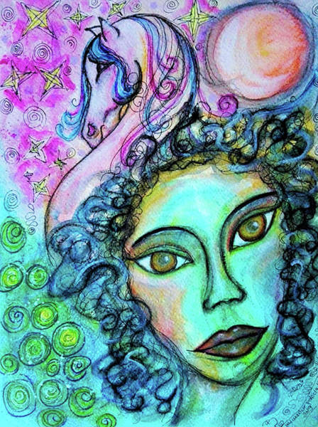 Mixed Media - Dreams Are Free by Mimulux patricia No