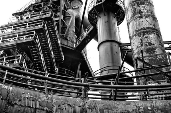 Wall Art - Photograph - Dreams Made Of Iron At Bethlehem Steel by John Rizzuto