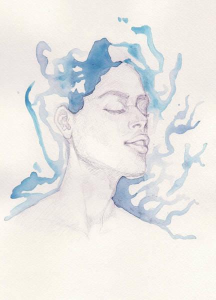 Guache Painting - Dreams by Raffaello Saverio Padelletti