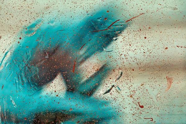 Blue Painting - Dreams by Winston Mauricio Sobalvarro