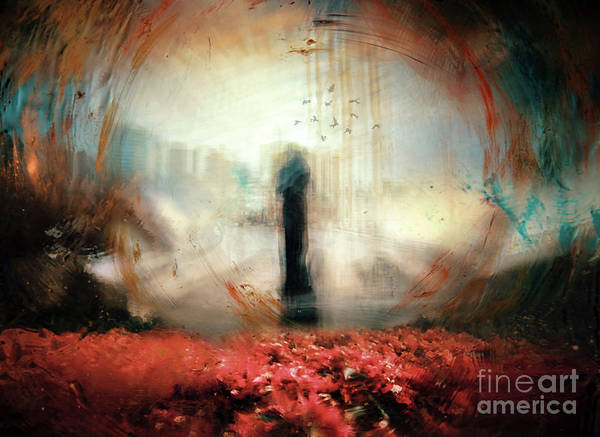 Figurative Abstract Photograph - Dreamwalker by Jacky Gerritsen