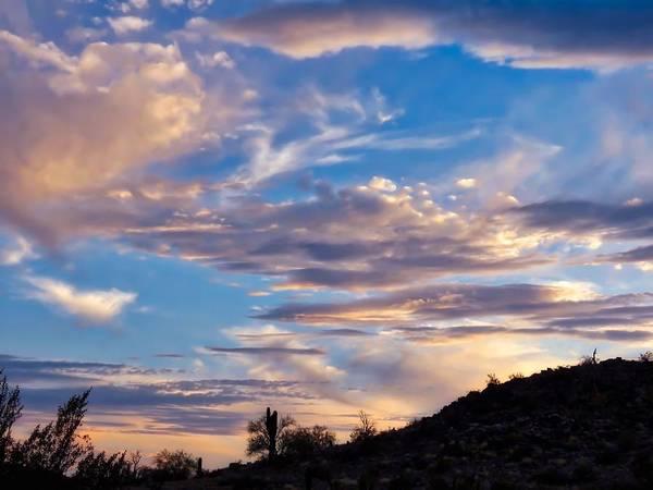 Photograph - Dreamy Desert Sunset by Judy Kennedy