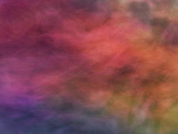 Photograph - Dreamy Soft Flowing Pastel Abstract Background With Red. Pink, Purple, Blue And Green Shapes by Teri Virbickis