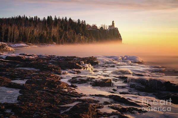 Lake Superior Wall Art - Photograph - Dreamy Split Rock Morning by Ernesto Ruiz