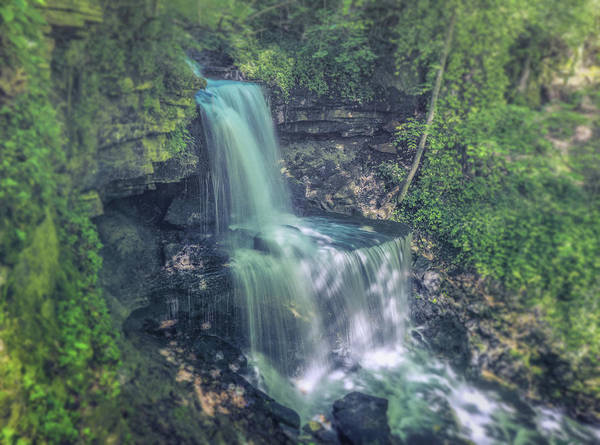 Photograph - Dreamy West Milton Falls Ohio by Dan Sproul