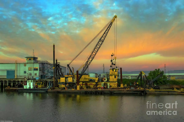 Wall Art - Photograph - Dredge Number 8 by Mitch Shindelbower