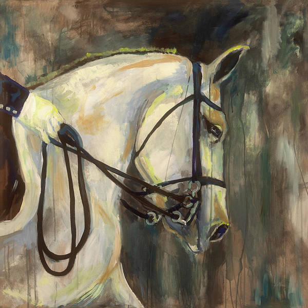 Dressage Painting - Dressage by Jeanette Vertentes