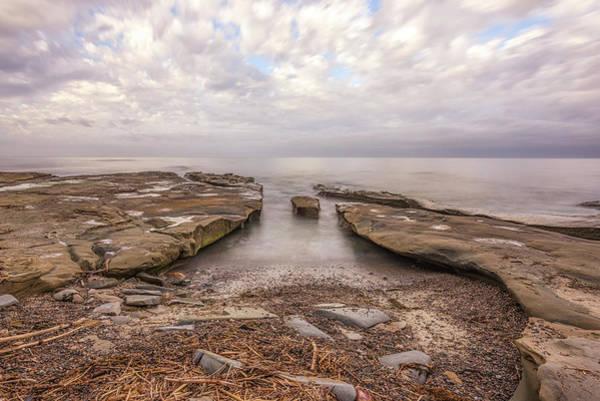 Wall Art - Photograph - Driftwood And Stone by Joseph S Giacalone