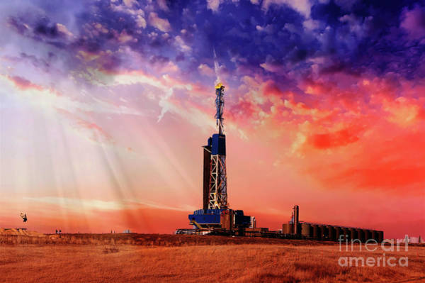 Wall Art - Photograph - Drilling For National Security by Jeff Swan