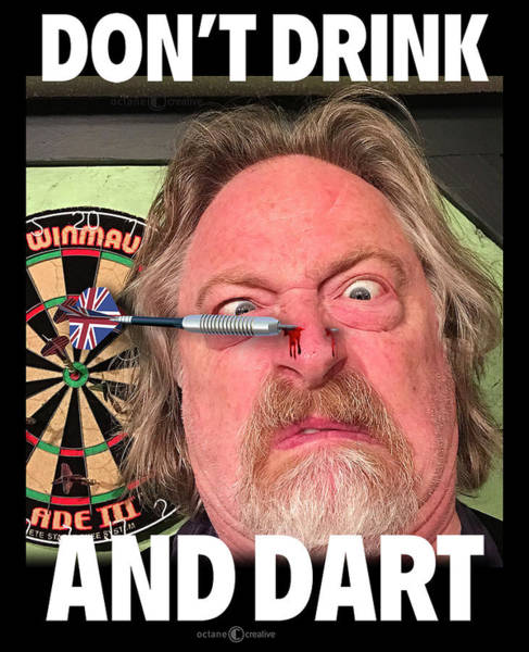 Photograph - Drink And Dart by Tim Nyberg