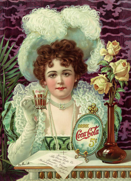 Wall Art - Painting - Drink Coca-cola, 1890 by American School