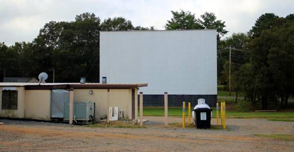 Photograph - Drive-in Big Screen by Cynthia Guinn
