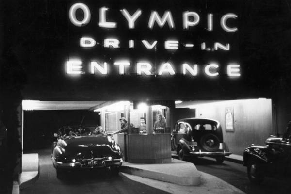 Photograph - Drive-in Cinema by Kurt Hutton