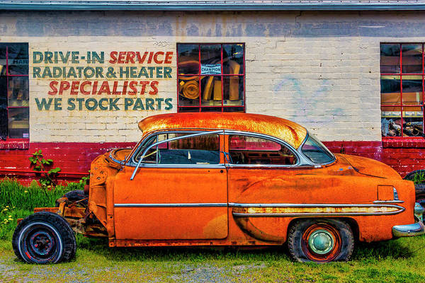 Wall Art - Photograph - Drive In Service by Garry Gay