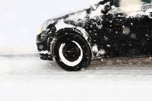 Driving Photograph - Driving In Snow by Rolfo Rolf Brenner