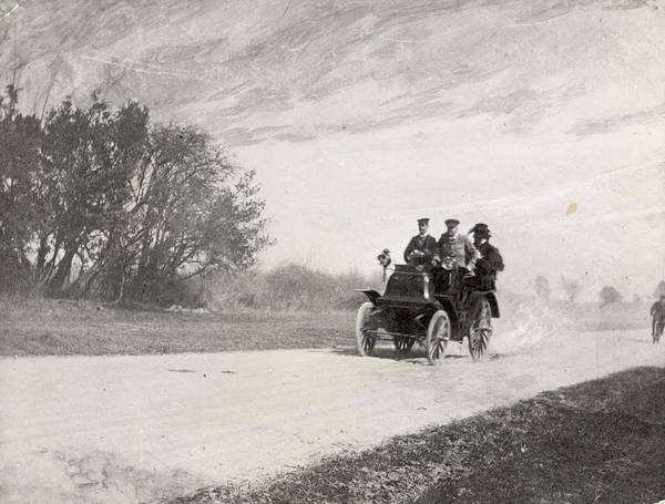 Driving Photograph - Driving Through Acton by Hulton Archive