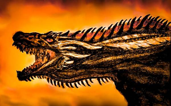 Wall Art - Photograph - Drogon by Lyndee Miller is Fierce Ambition Imagery