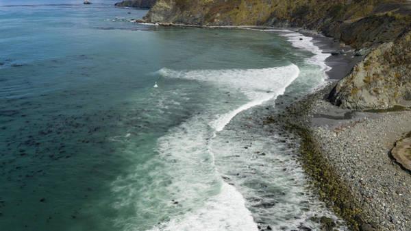 Drone Wall Art - Photograph - Drone Over Big Sur California by Steve Gadomski