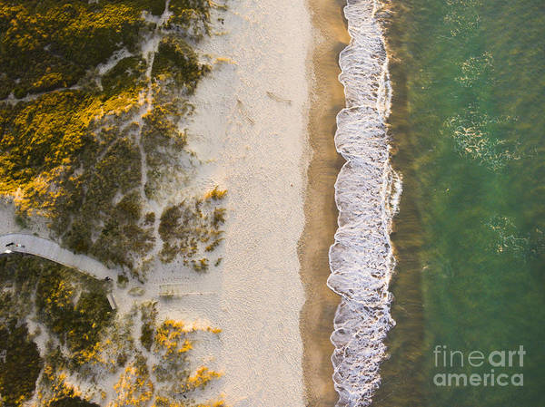 Drone Wall Art - Photograph - Drone Shot. Aerial Photography. East by Ondrejsustik