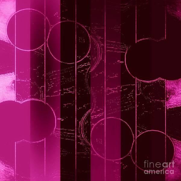 Mixed Media - Drop It Like It's Pink by Rachel Hannah