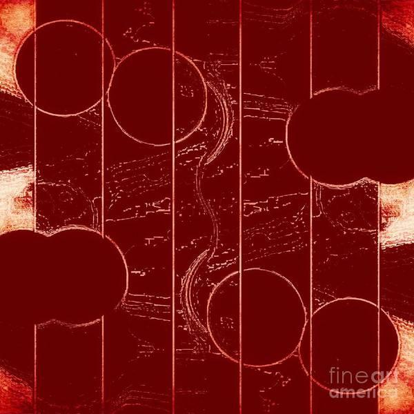 Mixed Media - Drop It Like It's Red by Rachel Hannah