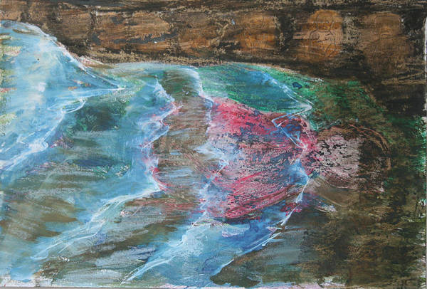 Mixed Media - Drowned Flat Out by Siobhan Dempsey