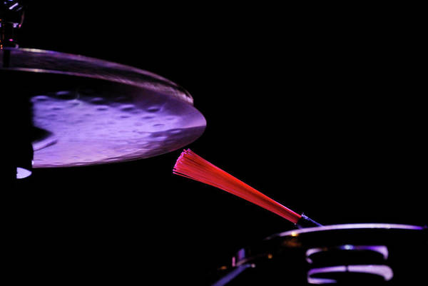 Battery Photograph - Drum by Paulo Dias Photography