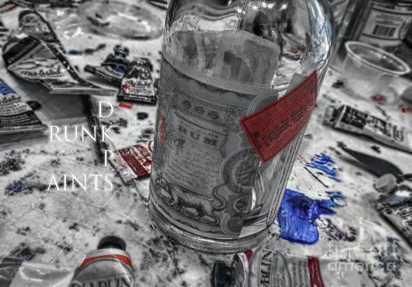 Wall Art - Photograph - Drunk Paints  by Steven Digman