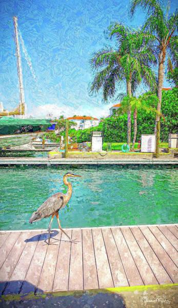 Photograph - Dry Dock Bird Walk by Susan Molnar