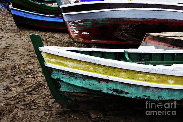 Photograph - Dry Docked by Rick Locke
