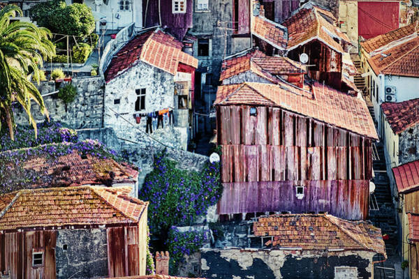 Photograph - Drying Laundry - Porto - Portugal by Stuart Litoff