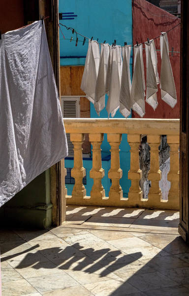 Photograph - Drying Napkins by Tom Singleton