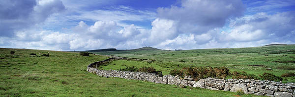 Wall Art - Photograph - Drystone Wall At Bellever Tor by Panoramic Images