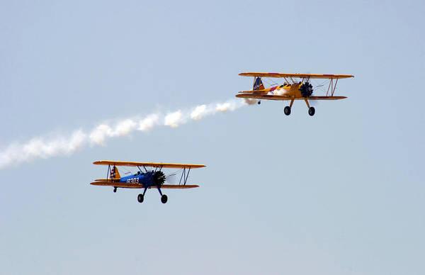 Photograph - Dual Bi-planes by Anthony Jones