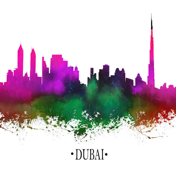 City Scape Digital Art - Dubai 3 by Tim Palmer