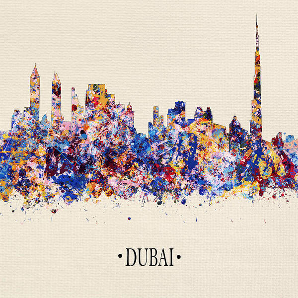 City Scape Digital Art - Dubai 5 by Tim Palmer