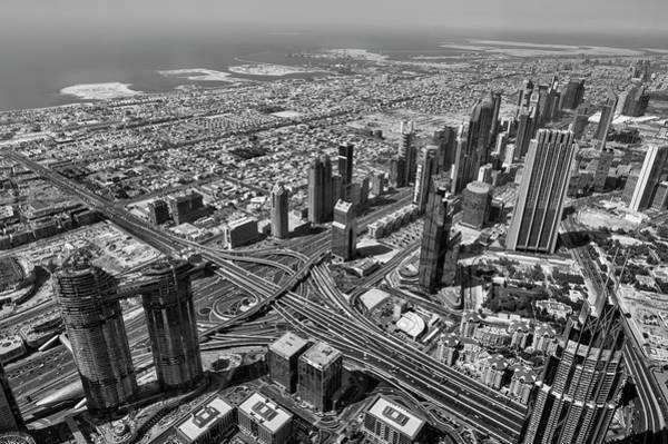 Wall Art - Photograph - Dubai Aerial View by David Pyatt