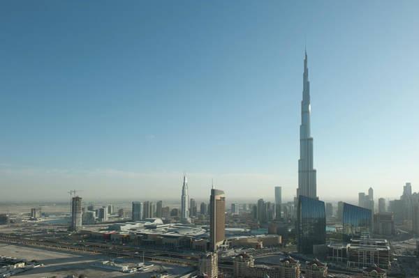 Desert View Tower Photograph - Dubai by Clearandtransparent