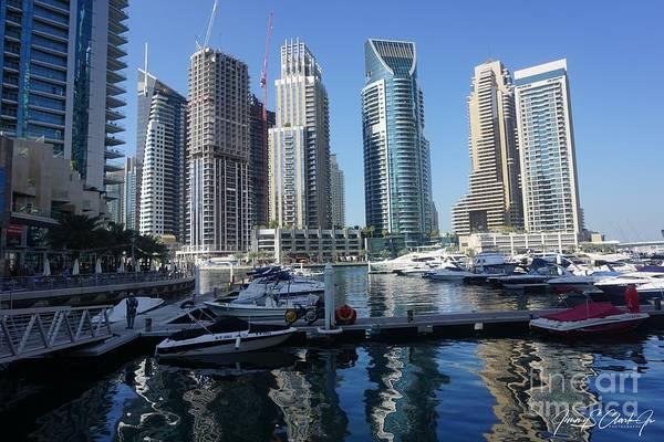Photograph - Dubai Marina by Jimmy Clark