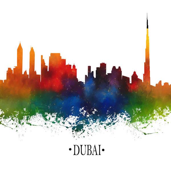 City Scape Digital Art - Dubai by Tim Palmer
