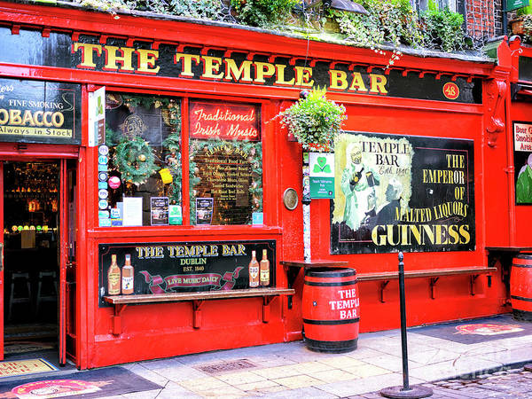 Wall Art - Photograph - Dublin 1840 Temple Bar Pub by John Rizzuto