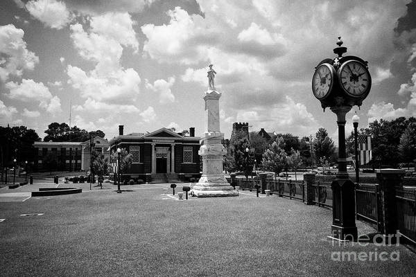 Wall Art - Photograph - Dublin City Center Bellevue Avenue With City Hall Carnegie Town Clock In The Commercial Historic Dis by Joe Fox